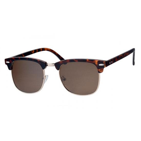 Dames zonnebrillen, Trendy bruine Clubmaster zonnebrillen ... 2c80b2d821ee